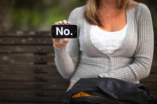 el arte de decir que no