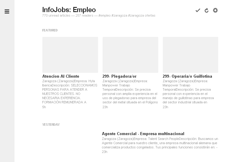 infojobs feedly 2