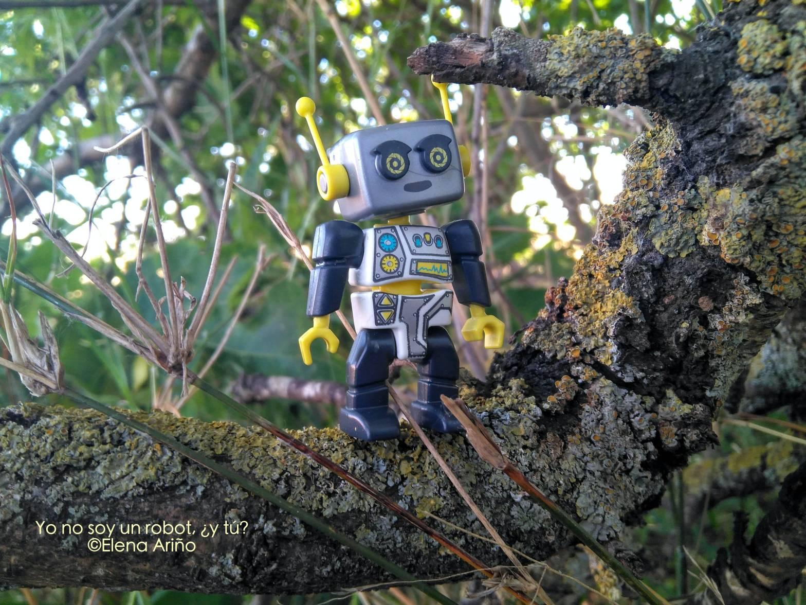 yo no soy un robot y tu